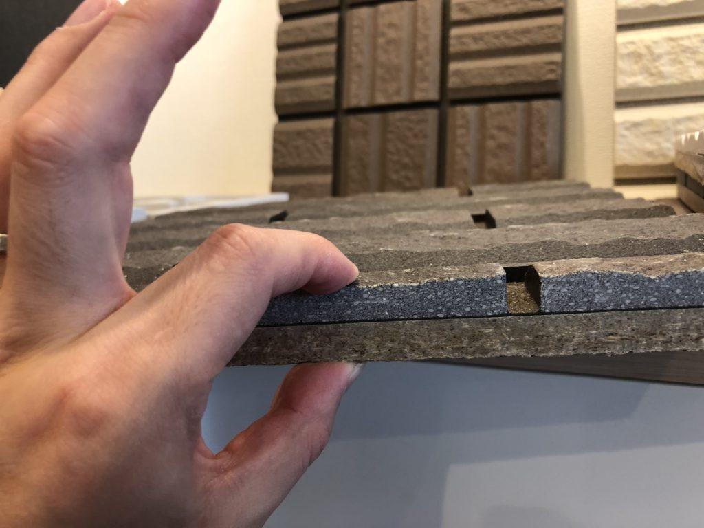 セキスイハイムの外壁タイルの厚さ