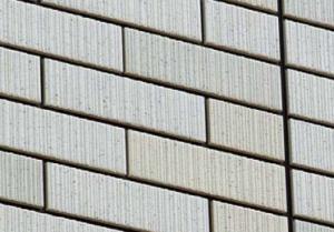 セキスイハイムの外壁、スクラッチタイル