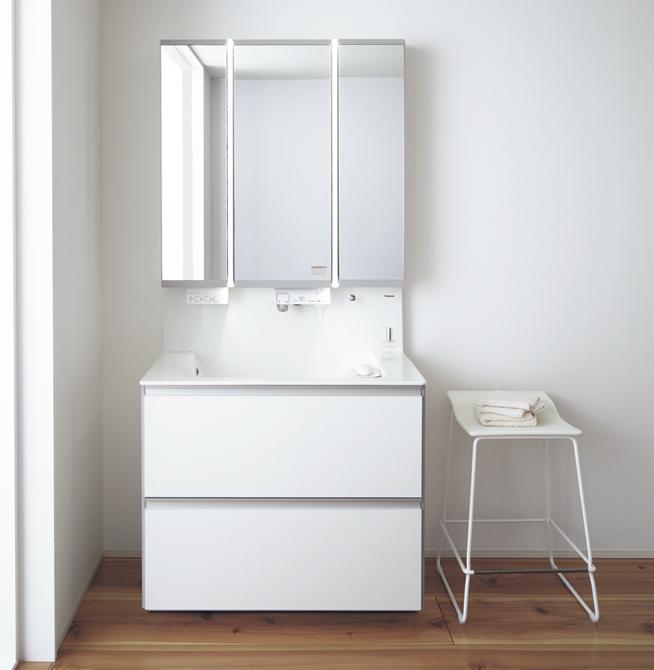 水回り設備、賢い選び方とホテルライクの洗面台