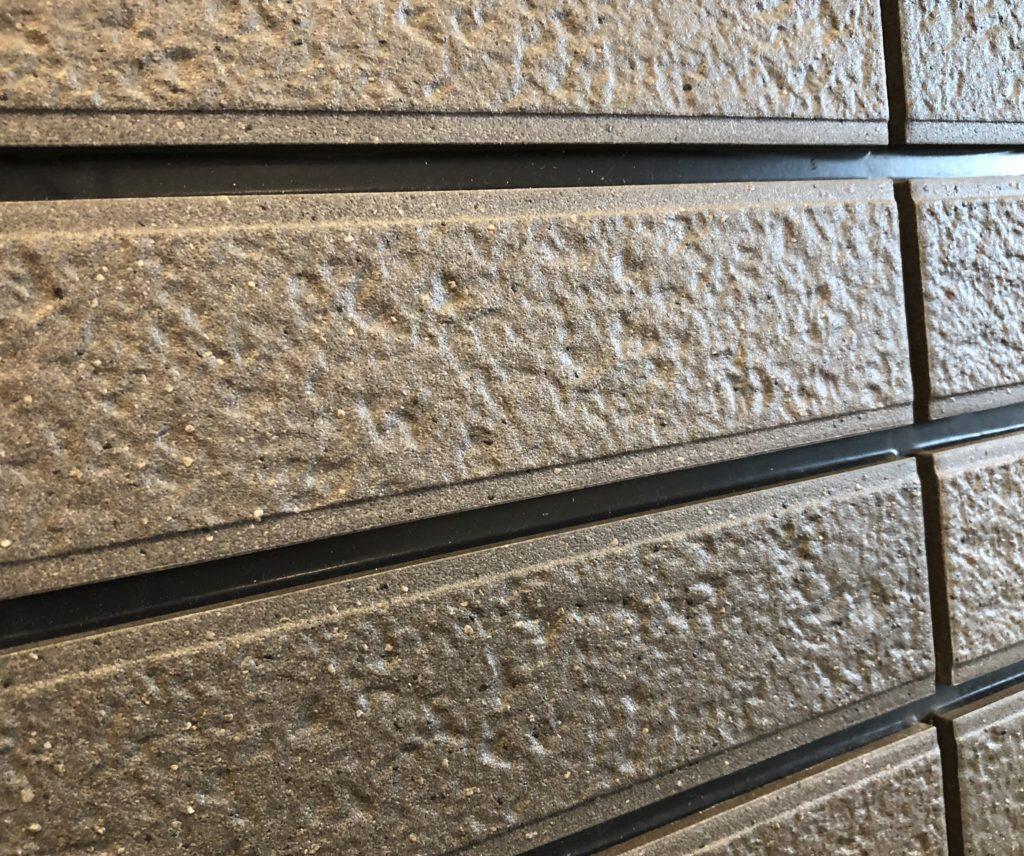 セキスイハイムのラスティックタイル外壁