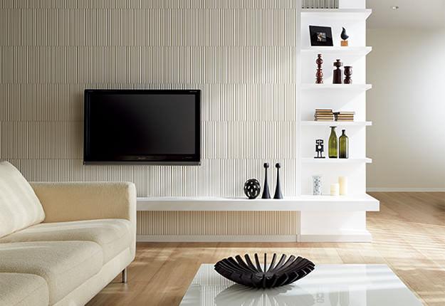 エコカラット・テレビの壁