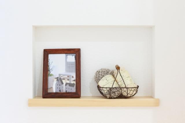 壁収納・飾り棚ニッチ