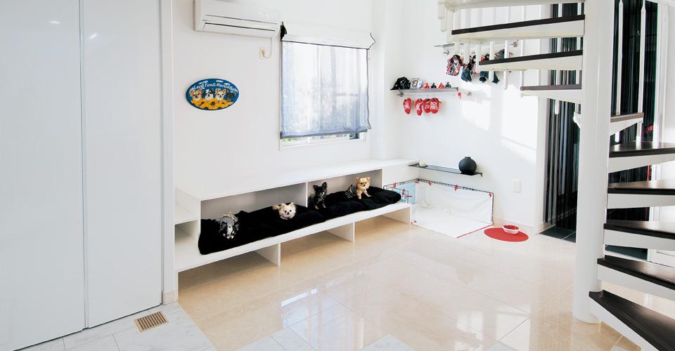 セキスイハイムの犬と暮らす家