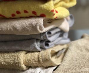 洗濯もの、タオル
