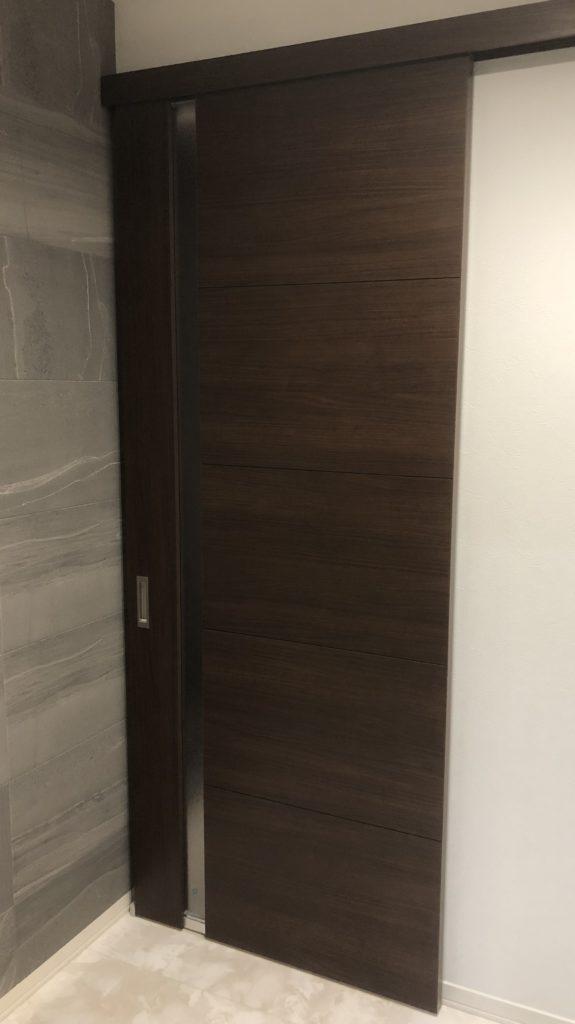 セキスイハイムのリビングドア