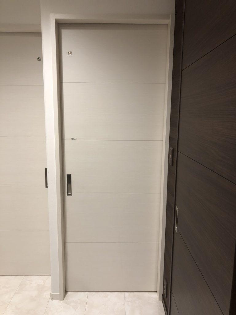 セキスイハイムのドア選び・トイレドア