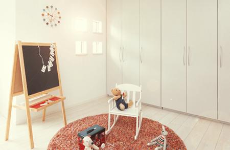 セキスイハイムの間取り・子ども部屋の間仕切りとFAMO(ファーモ)の活用