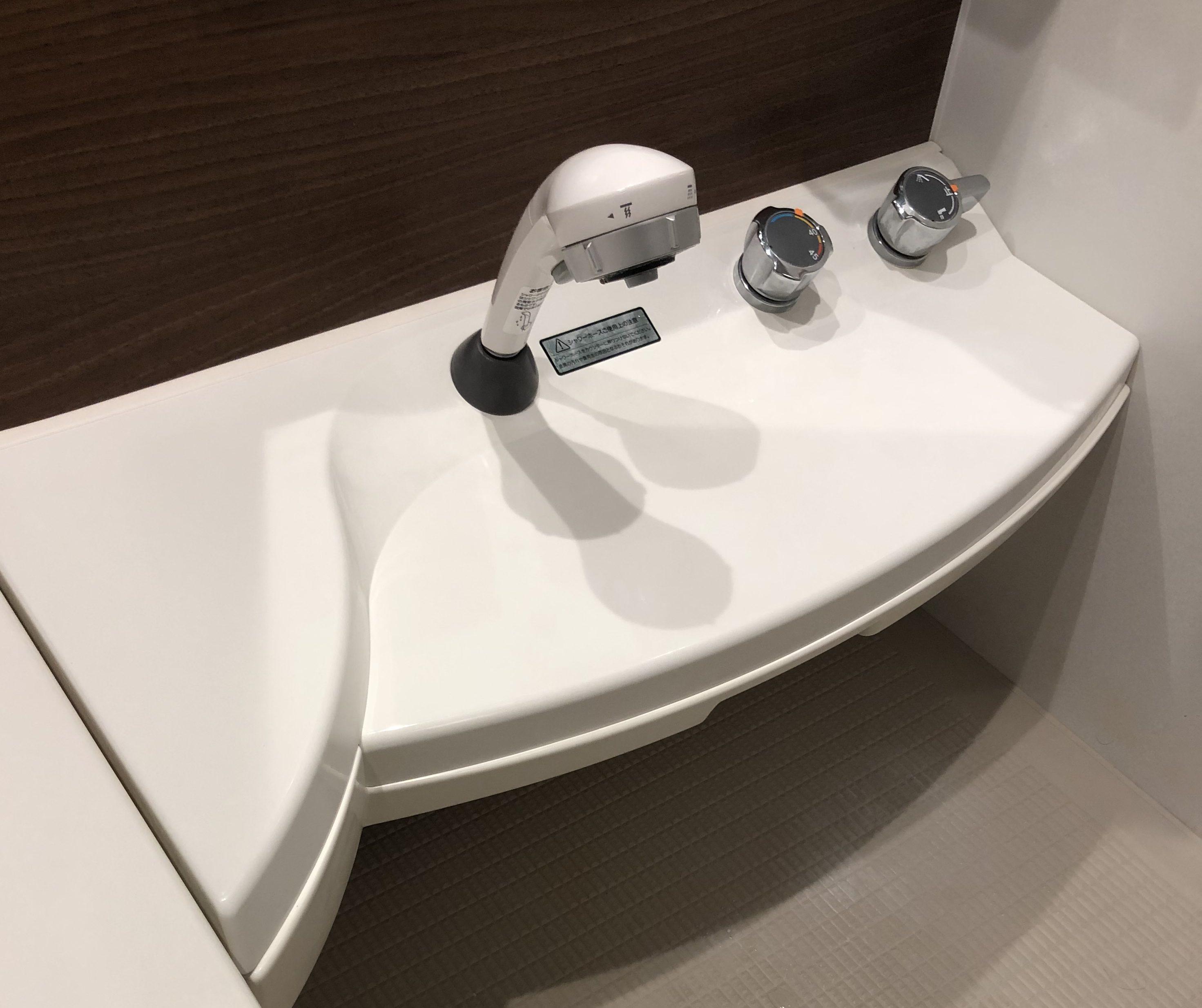 セキスイハイムのお風呂・アドバンスのカウンター