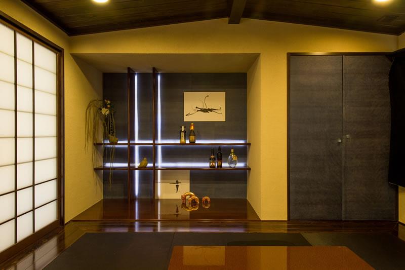 セキスイハイムのモダン和室