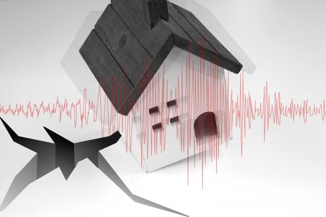 地震とセキスイハイムの倒壊