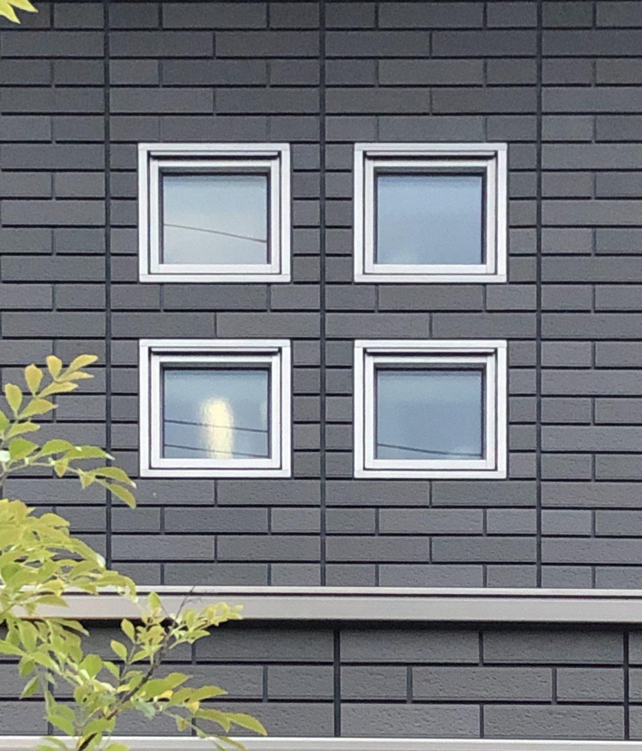 セキスイハイムのアクセント小窓・FIX窓・アクセント小窓