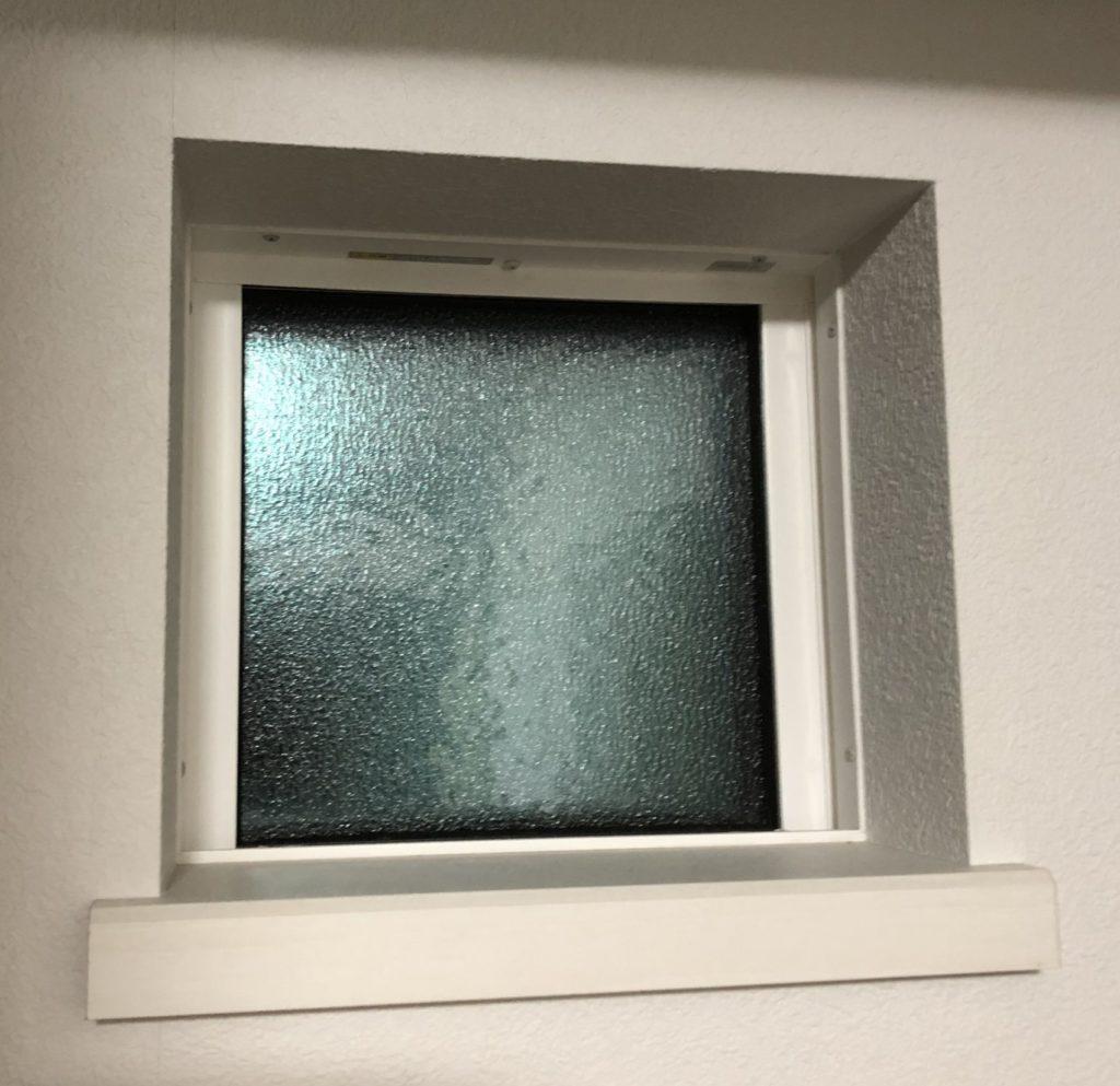アクセント小窓、FIX窓