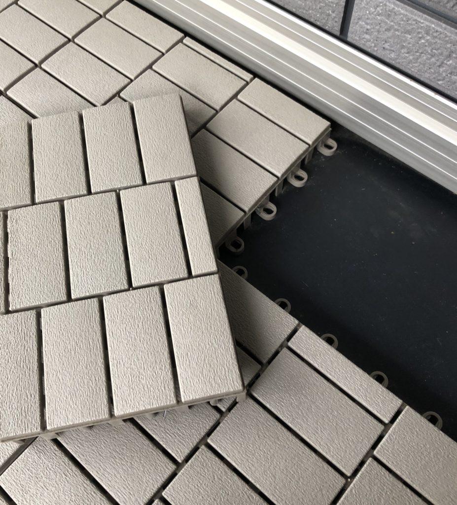 セキスイハイムのバルコニー床材