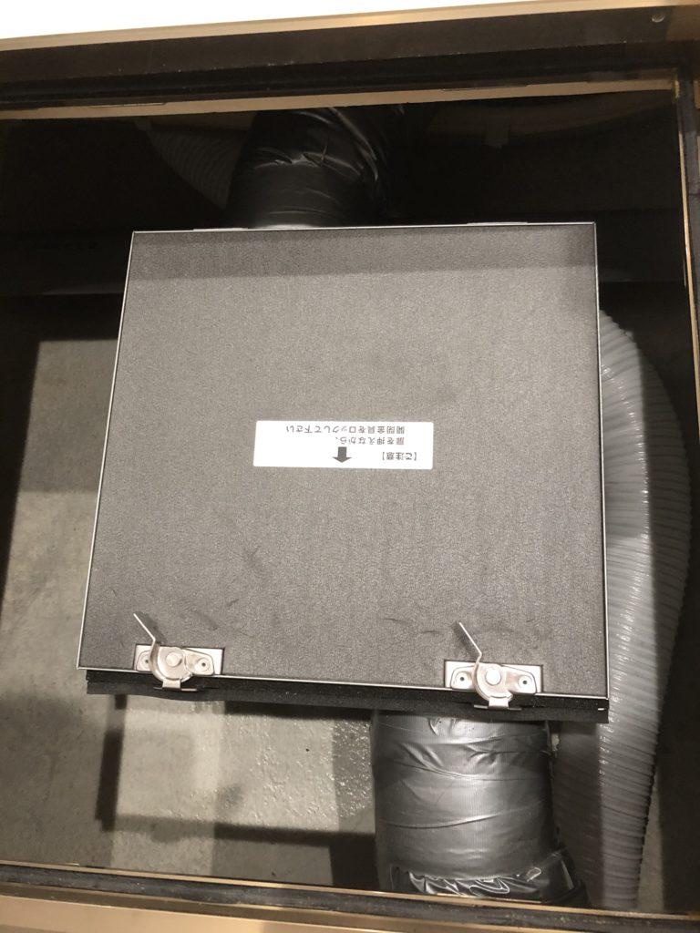 第一種換気システム・セキスイハイムのお手入れ