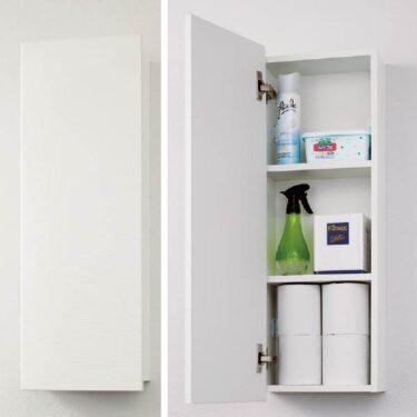 セキスイハイムのトイレ収納(標準仕様とオプション)とパナソニックのトイレ収納