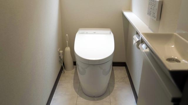 セキスイハイムのトイレ床材・クッションフロア・フロアタイル