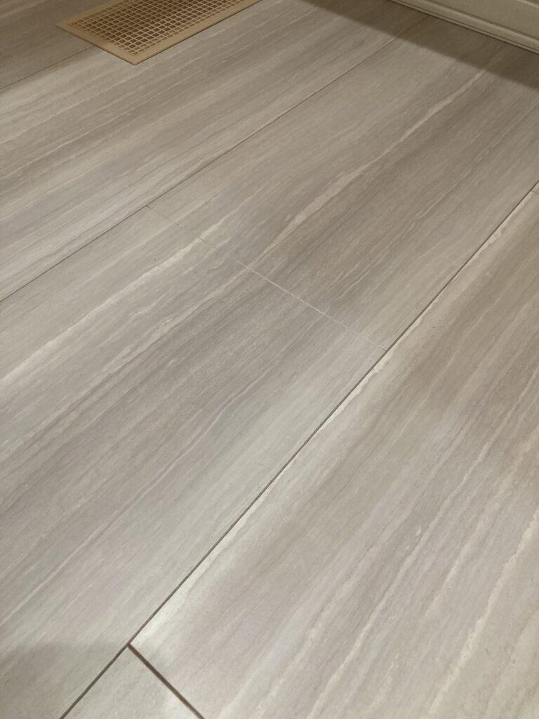新HDフローリング・セキスイハイムの床材ウォールナット源平